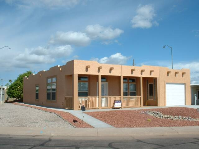 Manufactured homes arizona manufactured modular mobile for Adobe style mobile homes